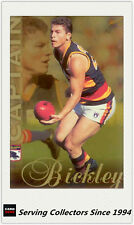 1998 Select AFL Club Captains Parallel Card CC1 Mark Bickley (Adelaide)