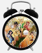 """Tinker Bell Alarm Schreibtisch Uhr 3.75"""" Zimmer Büro Dekor W02 wird als Geschenk"""