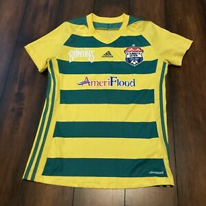 RARE Tampa Bay Rowdies / United Adidas Soccer Jersey #5 St Pete MLS Youth Sz S