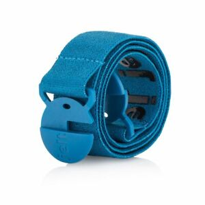 Jelt No Show Elastic Stretch Belt | For Men & Women | Eco Friendly | Turquoise