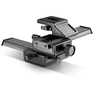 Neewer Pro 4-Way Macro Focusing Rail Slider for Close-Up Photography