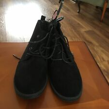Womens ankle boots size 7. Black Suede. Primark Make. Brand New With Tags