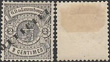 Luxemburg 1878 - Mint hinged stamp (MH). Mi Nr.: Service 11 IIA. .(EB) MV-40