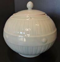Reproduction McCoy type Aqua Round Cookie/Biscuit Jar