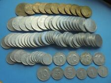 More details for east germany, democratic rep. job lot, pfennig & marks, as shown