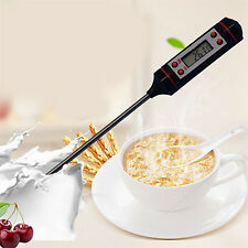 POP Digital Probe Thermometer Kitchen Food Temperature Cooking BBQ Turkey Wine