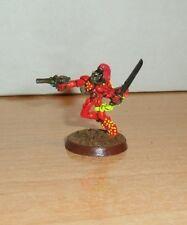 Warhammer 40K Eldar Harlequin TROOPER  PRO Painted Metal Rogue Trader 15