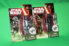 Star Wars Kylo Ren & Captain Phasma 3.75 Figure Set The Force Awakens BNIP