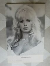 Barbara Valentin original signierte Autogrammkarte 1975