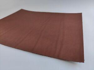 6 oz Precut Pieces Tooling Leather Square Leathercraft Cowhide. Ginger Cognac.