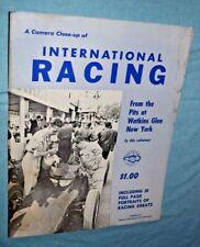 1960 Watkins Glen Vintage Formula 1 Poster