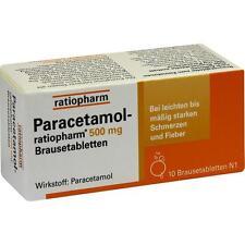 PARACETAMOL ratiopharm 500 mg Tabletas efervescentes 10 st PZN8704077