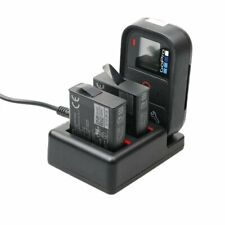 3 in 1 Wi-Fi Remote Control Battery Charger for GoPro Hero 7 6 5 Batteries