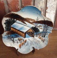 Norcrest Hand Painted Decorative Plate