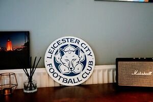 Leicester City FC Inspired Metal Wall Art