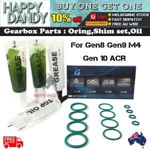UPGRADE Gearbox SHIM SET O Ring Oil Jinming Gen 8 9 10 M4a1 ACR Gel Blaster AU