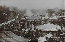 REAL PHOTO POSTCARD - Nottingham, England - Goose Fair 1930's