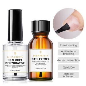 BORN PRETTY 15ml Nail Prep Dehydrator Nail- Set No Grinding Nail Art Tool DIY