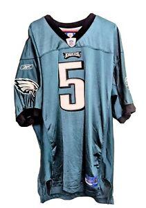 Philadelphia Eagles Donovan McNabb #5 Jersey Reebok Onfield sz 50 NFL Football