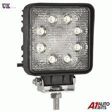 12V 24V Carré 24W 8 LED Lampe de Travail Spot Faisceau 4WD Jeep SUV Atv Camion