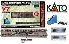 KATO 20-866 SET V7 échange DOUBLE électrique avec RAILS câbles et COMANDO