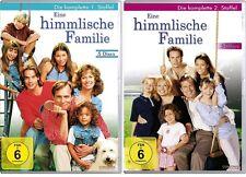 10 DVDs * EINE HIMMLISCHE FAMILIE - SEASON / STAFFEL 1 + 2 IM SET # NEU OVP $