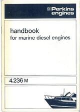Perkins 4.236M Marine Diesel Engine Operators Manual