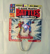 Clásico Marvel batallas caja Metálica luchadores - Spiderman Ironman