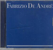 CD=FABRIZIO DE ANDRE' OMONIMO=COVER BLU
