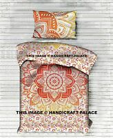 Indian Mandala Ombre Duvet Cover Hippie Blanket Twin Size Quilt Doona Cover Set