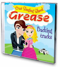 GREASE Our Singing School Karaoke Audition BACKING TRACKS Instrumental Audio CD