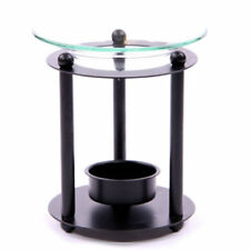 Artículos de baño color principal negro de vidrio