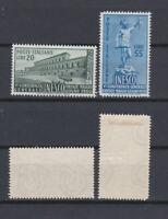 ITALY 1950 UNESCO Firenze Mint *  Sc.533-534 (Sa.618/619)