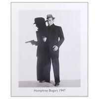 Humphrey Bogart Fine Art Print. Casablanca Iconic Movie Actor 50cm x 40cm