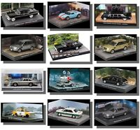 James Bond Cars with diorama 1/43 Brand New