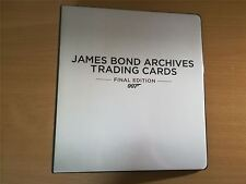 James Bond Archives 2017 The Final Edition Official Rittenhouse Binder