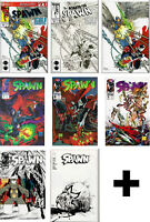 SPAWN COMIC BOOKS #1-6,7-298,299,300,301+++ Todd McFarlane,Capullo,Campbell