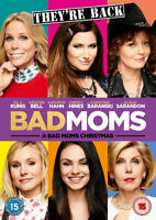 A Bad Moms Christmas DVD (2018) Mila Kunis, Lucas (DIR) cert 15 ***NEW***