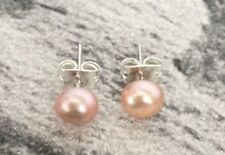 # GENUINE LAVENDER FRESHWATER PEARL STUD EARRINGS