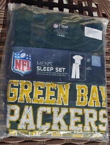 Green Bay Packers NFL men's sleep set PJs Size M