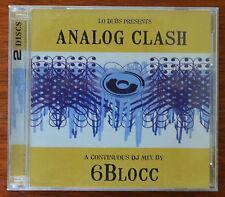 Analog Clash – Lo Dubs, 6Bloc 2xCD  711623401029 – Dubstep – Mint