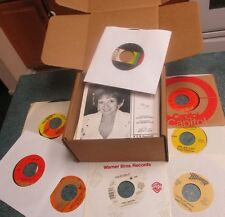 "COUNTRY / WESTERN 1960s-1980s Lot of (50) 45's Records Jukebox 7"" 45 RPM Vinyl"