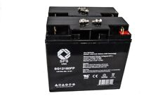 12V 18Ah SLA  Battery for UPS Alpha Technologies  ALIBP 1500T   3pack