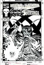 KIETH, SAM - MARVEL COMICS PRESENTS #101 ORIGINAL COVER ART (1991)