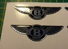 ****Bentley Chrysler high gloss gel domed badges****