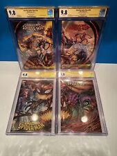 The Amazing SPIDER-MAN 797 798 799 800 CGC SS 9.8 Signed By Tyler Kirkham 7/1/18