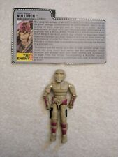 G.I. Joe Nullifier (v1) 1988 w/ Filecard