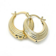 BEAUTIFUL EARRINGS 18K GOLD OVER STERLING SILVER !!!