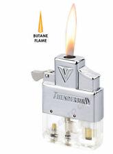 Thunderbird Butane Insert Piezo Vector Soft Flame KGM works w/ zippo clear