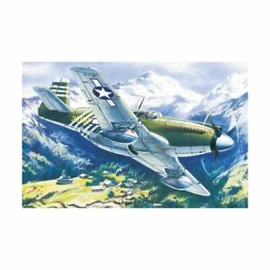 Icm Icm48161 Mustang P-51A WWII American Fighter 1/48